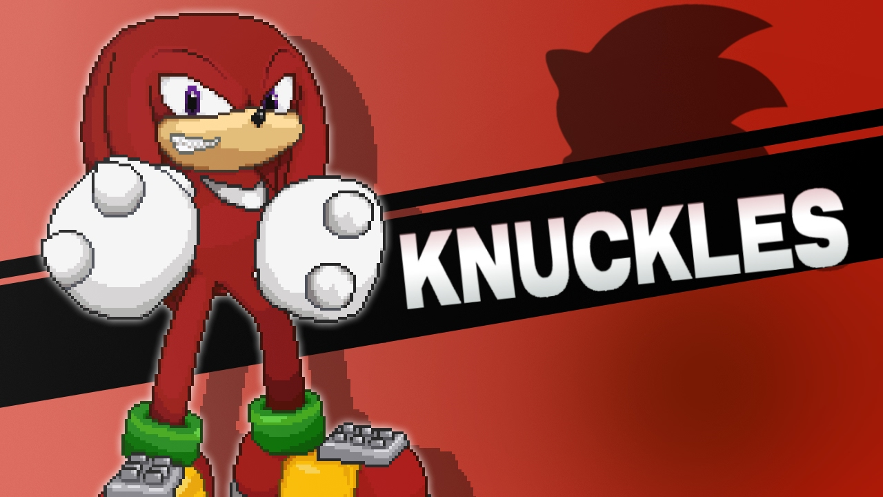 Knuckles's Strategy in SuperSmashFlash2